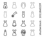evening icons. set of 16...   Shutterstock .eps vector #1011860239