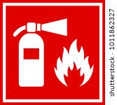 Fire Safety Red Vector Banner...