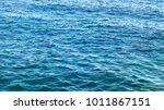 blue sea in summer | Shutterstock . vector #1011867151