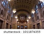 glasgow  scotland   22 january... | Shutterstock . vector #1011876355