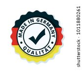 made in germany label... | Shutterstock .eps vector #1011880261