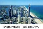surfers paradise  queensland ... | Shutterstock . vector #1011882997