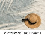 Hat And Glasses On The Beach At ...