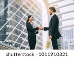 business partnership marketing... | Shutterstock . vector #1011910321