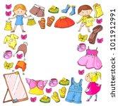 children clothing kindergarten...   Shutterstock .eps vector #1011912991