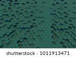 duo tone hexagon 3d background... | Shutterstock . vector #1011913471