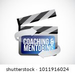 coaching and mentoring clip... | Shutterstock .eps vector #1011916024