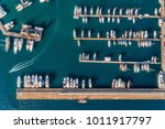 aerial view of amazing boats at ... | Shutterstock . vector #1011917797