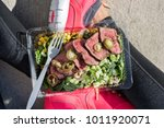 meal prep fitness lifestyle  ... | Shutterstock . vector #1011920071
