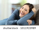 portrait of a happy woman...   Shutterstock . vector #1011923989