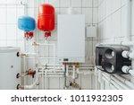 modern independent heating... | Shutterstock . vector #1011932305