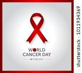 4 february world cancer day... | Shutterstock .eps vector #1011934369