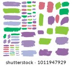 collection of hand drawn... | Shutterstock .eps vector #1011947929