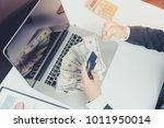 financial business concept  ... | Shutterstock . vector #1011950014
