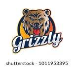 modern animal sports team logo... | Shutterstock .eps vector #1011953395