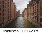 classic panoramic view of... | Shutterstock . vector #1011965125