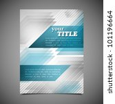 business brochure template | Shutterstock .eps vector #101196664