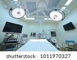 equipment and medical devices... | Shutterstock . vector #1011970327