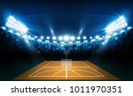 basketball arena field with... | Shutterstock .eps vector #1011970351