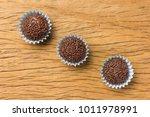 brigadeiro is a typical...   Shutterstock . vector #1011978991