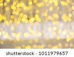 christmas lights background....   Shutterstock . vector #1011979657