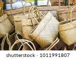 Product Weaving A Wicker Baske...