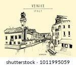 Murano Island In Venice  Italy...