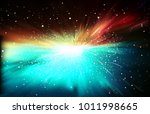 abstract dark space background... | Shutterstock .eps vector #1011998665