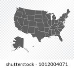 map of united states of america ... | Shutterstock .eps vector #1012004071