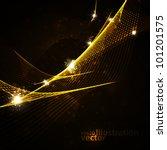 abstract vector background ...   Shutterstock .eps vector #101201575
