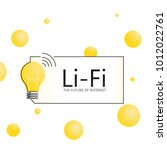 lifi banner. the future of...   Shutterstock .eps vector #1012022761