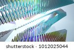 abstract white and colored... | Shutterstock . vector #1012025044