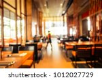 abstract blur restaurant and...   Shutterstock . vector #1012027729