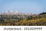 calgary downtown at dust  canada | Shutterstock . vector #1012039999