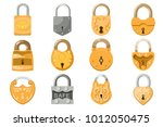 Padlock Vector Lock For Safety...