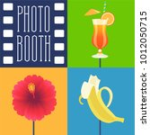 photo booth printable props... | Shutterstock .eps vector #1012050715
