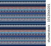ethnic seamless pattern.... | Shutterstock .eps vector #1012066201