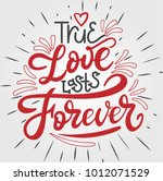 I Love Lasts Forever. Hand...