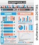 infographics city   Shutterstock . vector #101207581