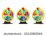 luck and fortune concept....   Shutterstock . vector #1012082044