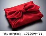 furoshiki is japanese wrapping... | Shutterstock . vector #1012099411