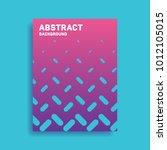 abstract vector pattern... | Shutterstock .eps vector #1012105015