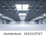 3d rendering interior empty... | Shutterstock . vector #1012115767