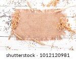 set of groats and grains.... | Shutterstock . vector #1012120981