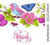 Spring Garden Seamless Pattern...