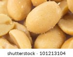 A Closeup Picture Of A Bunch O...