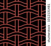 basket weave seamless pattern.... | Shutterstock .eps vector #1012131481