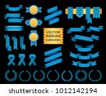 vector collection of decorative ... | Shutterstock .eps vector #1012142194