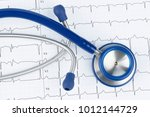 stethoscope and...   Shutterstock . vector #1012144729