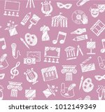 leisure and cultural centres.... | Shutterstock .eps vector #1012149349